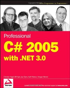 Professional C# 2005 with .NET 3.0 (Paperback)-cover