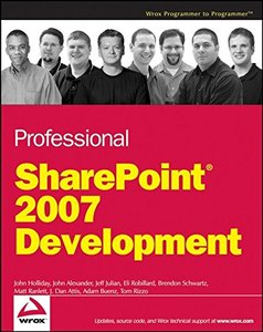 Professional SharePoint 2007 Development (Paperback)-cover