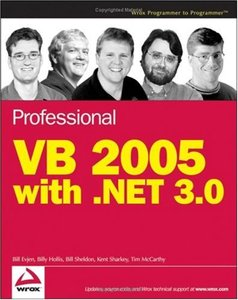 Professional VB 2005 with .NET 3.0-cover
