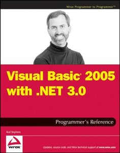 Visual Basic 2005 with .NET 3.0 Programmer's Reference (Paperback)-cover