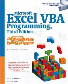 Microsoft Excel VBA Programming for the Absolute Beginner, 3/e (Paperback)