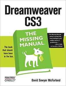 Dreamweaver CS3: The Missing Manual-cover