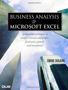 Business Analysis with Microsoft Excel, 3/e-cover