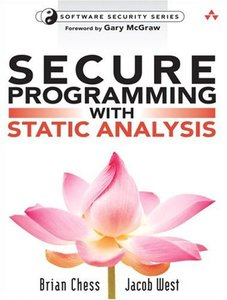 Secure Programming with Static Analysis (Paperback)-cover