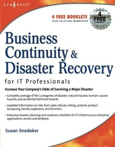 Business Continuity and Disaster Recovery Planning for IT Professionals (Paperback)-cover