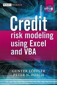 Credit Risk Modeling using Excel and VBA-cover