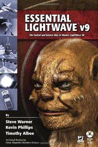 Essential LightWave v9 : The Fastest and Easiest Way to Master LightWave 3D (Paperback)-cover