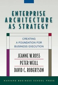 Enterprise Architecture As Strategy: Creating a Foundation for Business Execution-cover