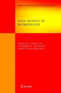 Data Mining in Biomedicine (Hardcover)-cover