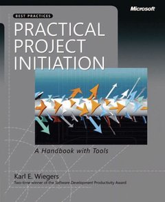 Practical Project Initiation: A Handbook with Tools-cover