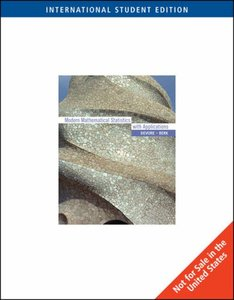 Modern Mathematical Statistics with Applications (IE-Paperback)-cover