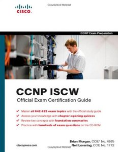 CCNP ISCW Official Exam Certification Guide-cover