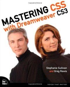 Mastering CSS with Dreamweaver CS3-cover