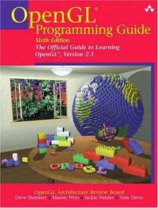 OpenGL Programming Guide: The Official Guide to Learning OpenGL, Version 2.1, 6/e-cover