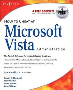 How to Cheat at Microsoft Vista Administration (Paperback)-cover