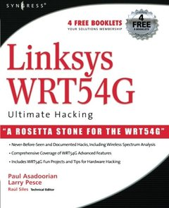 Linksys WRT54G Ultimate Hacking-cover