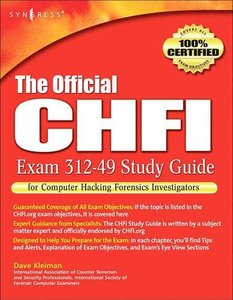 The Official CHFI Study Guide (Exam 312-49) (Paperback)-cover