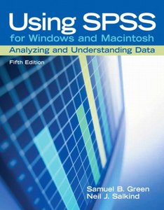 Using SPSS for Windows and Macintosh: Analyzing and Understanding Data, 5/e-cover