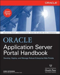 Oracle Application Server Portal Handbook (Paperback)-cover