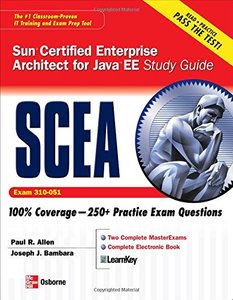 Sun Certified Enterprise Architect for Java EE Study Guide (Exam 310-051), 2/e (Paperback)-cover