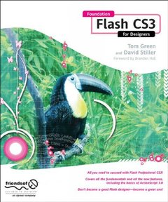 Foundation Flash CS3 for Designers (Paperback)-cover