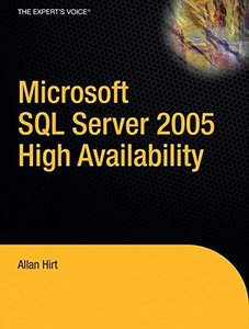 Pro SQL Server 2005 High Availability-cover