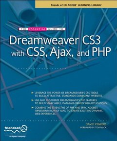 The Essential Guide to Dreamweaver CS3 with CSS, Ajax, and PHP (Paperback)-cover