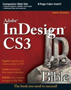 Adobe InDesign CS3 Bible-cover