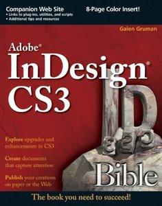 Adobe InDesign CS3 Bible-cover