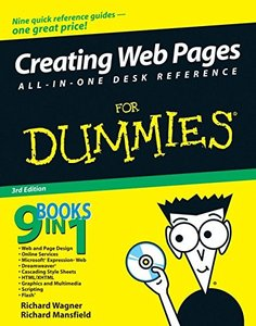 Creating Web Pages All-in-One Desk Reference For Dummies, 3/e-cover