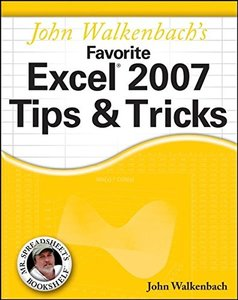 John Walkenbach's Favorite Excel 2007 Tips & Tricks-cover