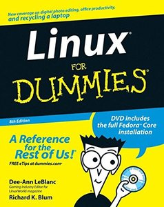 Linux For Dummies, 8/e-cover