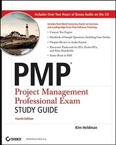 PMP: Project Management Professional Exam Study Guide, 4/e (Paperback)-cover