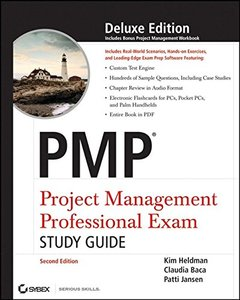 PMP: Project Management Professional Exam Study Guide, 2/e (Hardcover)-cover