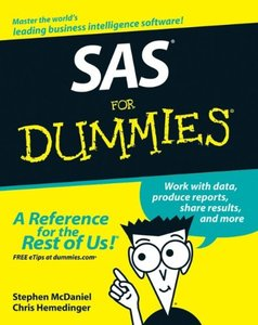 SAS For Dummies (Paperback)-cover