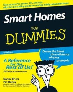 Smart Homes For Dummies, 3/e-cover