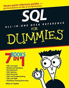 SQL All-in-One Desk Reference For Dummies-cover