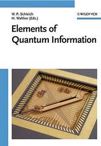 Elements of Quantum Information-cover