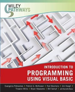 Wiley Pathways Introduction to Programming using Visual Basic-cover