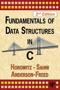 Fundamentals of Data Structures in C, 2/e (Paperback)-cover