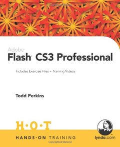 Adobe Flash CS3 Professional Hands-On Training (Paperback)-cover