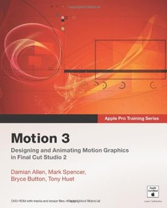 Apple Pro Training Series: Motion 3 (Paperback)-cover