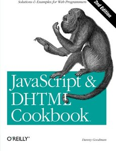JavaScript & DHTML Cookbook, 2/e-cover