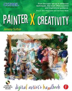 Painter X Creativity: Digital Artist's handbook (Paperback)-cover