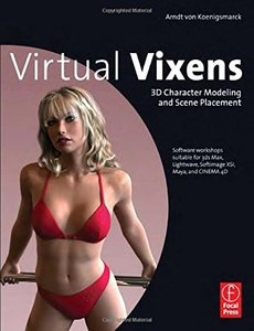 Virtual Vixens: 3D Character Modeling and Scene Placement (Paperback)-cover