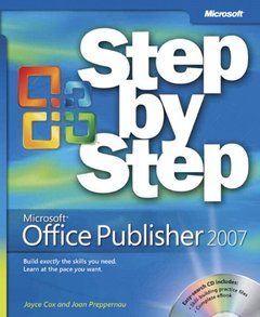 Microsoft  Office Publisher 2007 Step by Step-cover