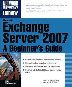 Microsoft Exchange Server 2007: A Beginner's Guide, 2/e-cover