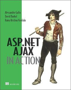 ASP.NET AJAX in Action (Paperback)-cover
