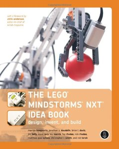 The LEGO MINDSTORMS NXT Idea Book: Design, Invent, and Build-cover