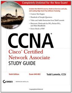 CCNA: Cisco Certified Network Associate Study Guide (Exam 640-802), 6/e-cover